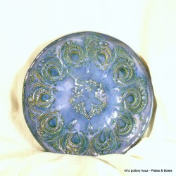 Custom small wheel-thrown stoneware bowl or plate!