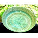 Custom large wheel-thrown stoneware bowl or plate!
