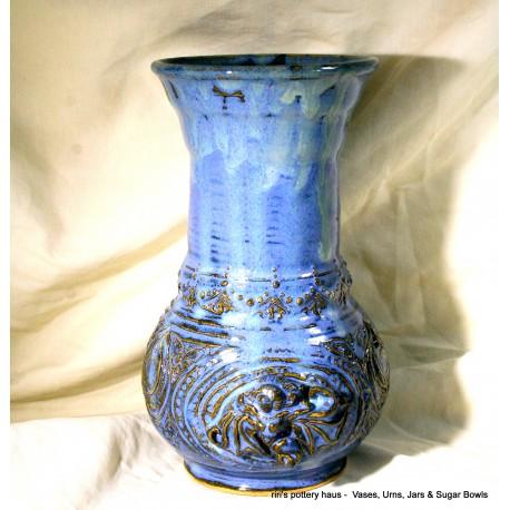 Custom wheel-thrown stoneware vase or urn!