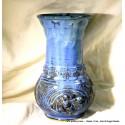 Custom large wheel-thrown stoneware vase or urn!