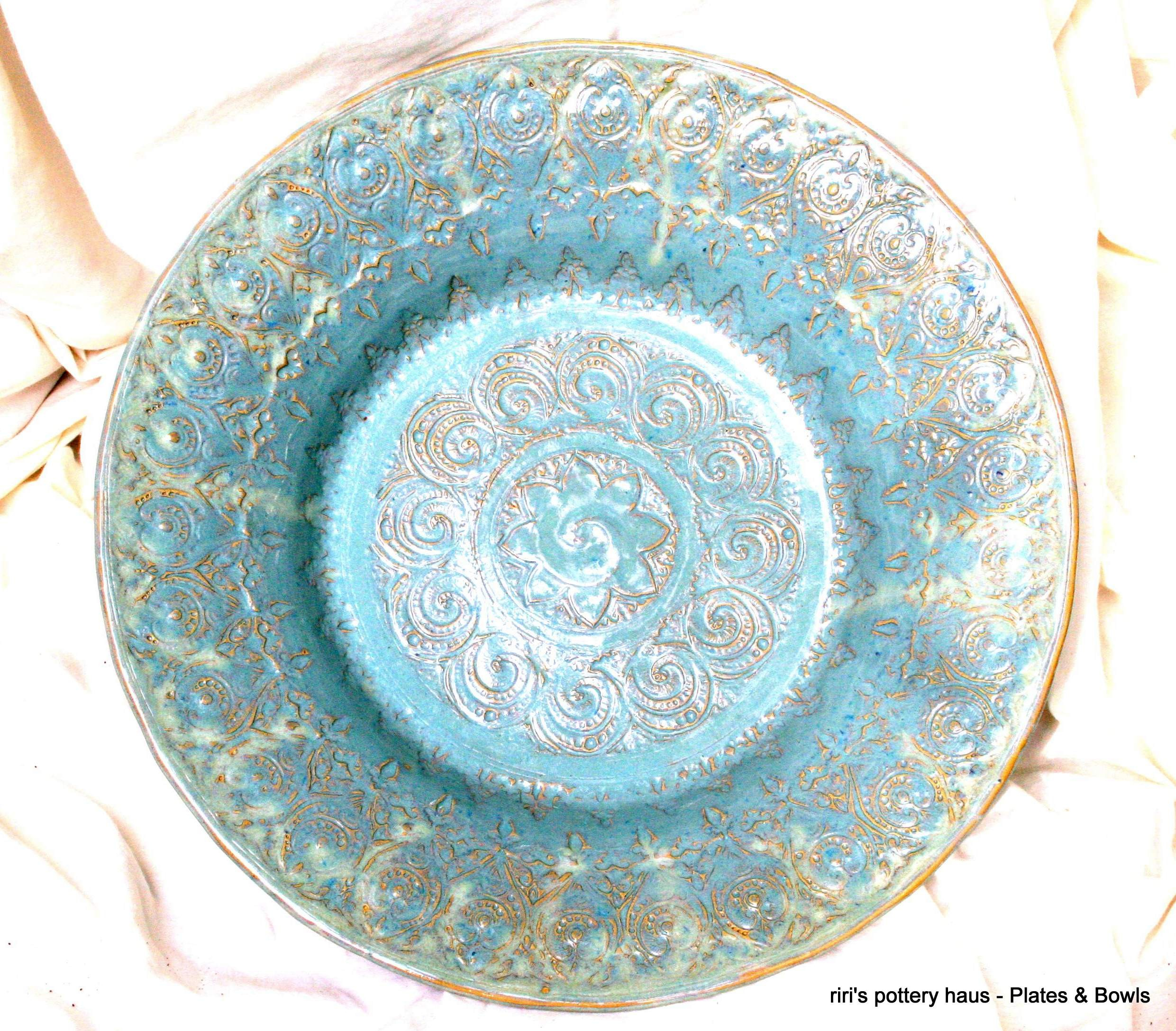 Custom wheel-thrown stoneware bowl or plate!